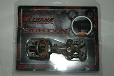 New Extreme Archery Rubicon 100 Bow Sight Mathews Lost Camo 4 (.019) Pins