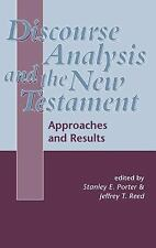 The Library of New Testament Studies: Discourse Analysis and the New...