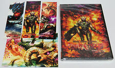 Gunlord 1st Print + 3 Stickers & Postcard Sega Dreamcast * Brand NEW Sealed *