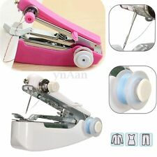 Lightweight Mini Sewing Machine Handheld Small Stitch Cordless with Thread Craft