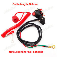 Engine Notausschalter Kill Schalter für Mini Dirt ATV Pocket Bike TRX