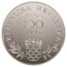 Croatia SILVER- 100 Kuna, 1995, 5th Anniversary of Independence- PROFF- NEW !!