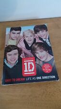 1D Dare To Dream Life As One Direction 2012 Exclusive book Paperback