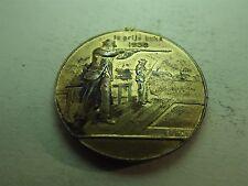 Ie Prijs Buks 1938 28-5-38 Shooting Medal V.K. &.Z.N (refn5902)