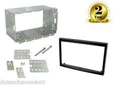 Double DIN Car Stereo Fascia Fitting Panel Kit For Peugeot 207 ,307 , 307SW/CC