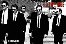RESERVOIR DOGS - LETS GO MOVIE POSTER - 24x36 TARANTINO KEITEL BUSCEMI 34028