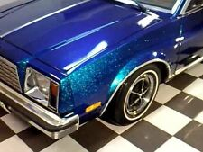 Turquoise Blue Super Fine Laser Holo Metal Flake Custom Paint Airbrush Car 0.04
