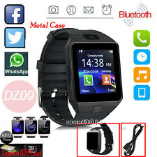Noir DZ09 Bluetooth Montre Téléphone Intelligent Smart Watch Pour Android iPhone
