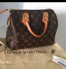 100% Guaranteed Authentic Louis Vuitton Monogram Speedy 25 $950