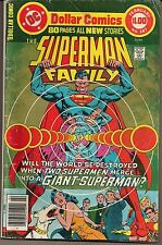 SUPERMAN FAMILY #187 DC 1978 JIMMY OLSEN LOIS LANE SUPERGIRL KRYPTO+ 80 PGS VGFN