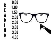 Wayfarer Reading Glasses 0.0 to 4.00 Unisex  Mens Ladies Designer Spring retro