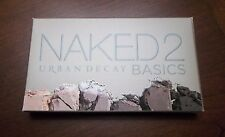 Urban Decay NAKED2 Basics Eyeshadow Palette - AUTHENTIC - New In Box!