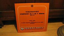 FRANZ ANDRE-TCHAIKOVSKY SYMPONY NO.4 LP VG+ LGX 66002 TELEFUNKEN BLACK GOLD