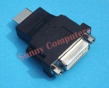 DVI D Female Dual Link  to HDMI Male Connector Converter PC HDTV Adapter Socket