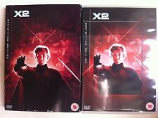Hugh Jackman X-MEN 2 ~ Ltd ED UK 2-Disc Definitive Edition DVD w/ slipcover