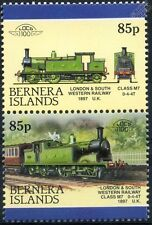 1897 LSWR Class M7 0-4-4T London & South Western Train Stamps (Bernera)