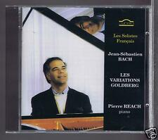 JS BACH CD NEW GOLDBERG VARIATIONS / PIERRE REACH