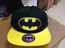 One Size Cap Hat Snapback Batman Fashion Adjustable  Black Yellow Unisex