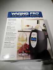 Waring PRO Professional Wine Chiller, 33 Preset Temperartures, Backlit Display