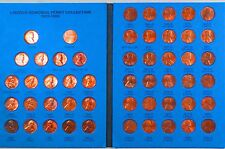 U.S.  1959-1995  LINCOLN MEMORIAL PENNY COLLECTIONS, 93 Coins Total, P/D Mints