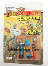1989 Tyco Dino Riders Commandos Faze Figure Carded MOSC (Clean Card)
