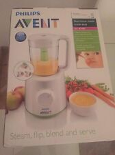 Philips AVENT SCF870 Combined 2 in 1 Baby Food Steamer And Blender