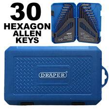 Draper Metric Imperial Allen Allan Alen Hex Key Set Long Pattern Hexagon KW30/B