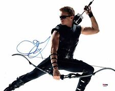 JEREMY RENNER SIGNED THE AVENGERS 11x14 PHOTO! HAWKEYE AUTOGRAPH PSA DNA 1