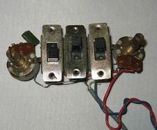Vintage 1960's Teisco, Univox, Del Ray Pick-up switches, volume and tone pots