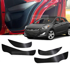 Carbon Door Decal Sticker Kick Protector for HYUNDAI 2013 - 2016 Elantra GT i30