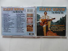 CD Album HANK SNOW I'm movin' on PLATCD 928 Country