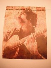 Peter Tosh Guitarist 12x9 Coffee Table Book Photo Page