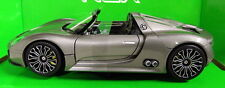 Nex models 1/24 Scale 24031 Porsche 918 Spyder Metallic grey Diecast model car