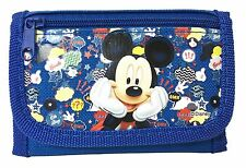 Disney Mickey Mouse Teen Boys Tri-Fold Wallet