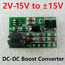 3.7V 5V 6V 9V 12V to +15V/-15V DC DC Converter Step up Boost Dual Voltage Power