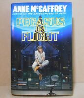 PEGASUS IN FLIGHT by Anne McCaffrey (1990, Hardcover) 1st EDITION w/dustcover