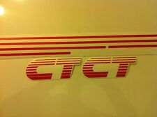 Kit complet stickers autocollants Peugeot 205 CT rouge red