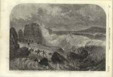 1861 Late Storm At Kingstown, Bay Of Dublin Capt Boyd And Crew Lost