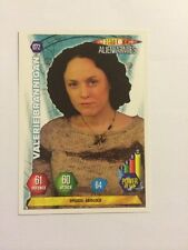 DOCTOR WHO- ALIEN ARMIES- TRADING CARD GAME- 072-VALERIE BRANNIGAN- MINT