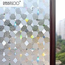 Fresnel Len Window Film 3D No Glue Static Decorative Residential Privacy Anti UV