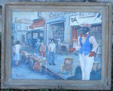 Peinture Marché aux Puces Saint Ouen