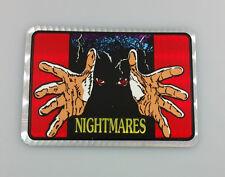 1980's VINTAGE NIGHTMARES PRISM VENDING MACHINE HORROR MOVIE STICKER