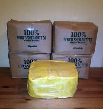 10 Lbs Raw Organic SHEA BUTTER Unrefined Pure Yellow Gold GHANA Grade A 10 Pound