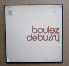 CBS S 77331 Boulez Conducts Debussy 3xLP Box Set EX/VG