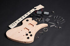 Kit DIY Guitarra Mockingbird caoba - Unfinished electric guitar MB DIY Mahogany