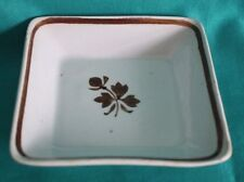 "Antique 1880's Royal Ironstone china Alfred Meakin England 4"" square dish"