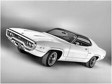 1972 Plymouth Satellite Sebring Plus Coupe  Press photo  8 x 10  Photograph