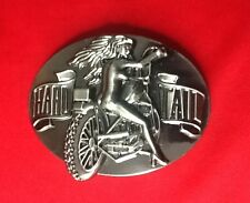 HARD TAIL SEXY GIRL CHICK CHOPPER BIKE BIKER EASY RIDER MOTORCYCLE BELT BUCKLE