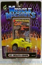 1941 '41 WILLYS COUPE C02-04 CARTOONS DIECAST MUSCLE MACHINES FUNLINE