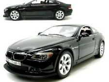 BMW 645CI R/C Car 1:24 Scale Black Remote Control Electric Battery Powered AA